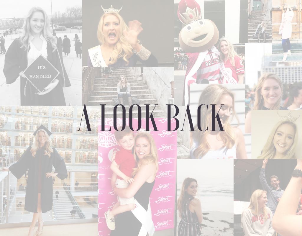 A look back collage